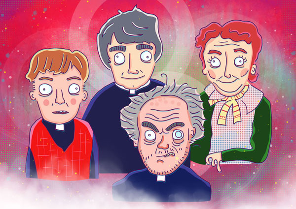 Father Ted illustration