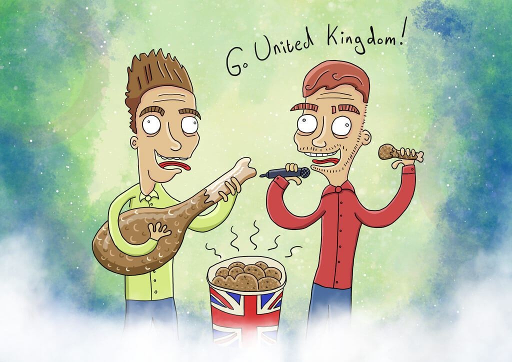 Jake and Joe, the UK Eurovision 2016 entry