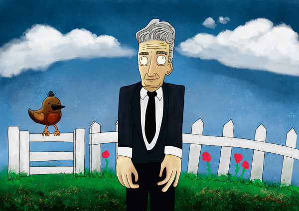 David Lynch from my film directors illustration series