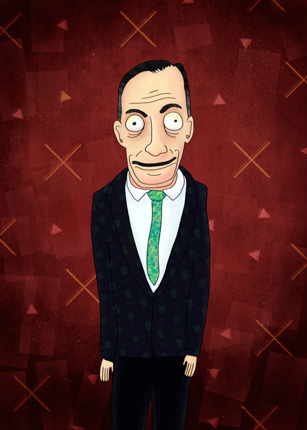 John Waters from my film directors illustration series