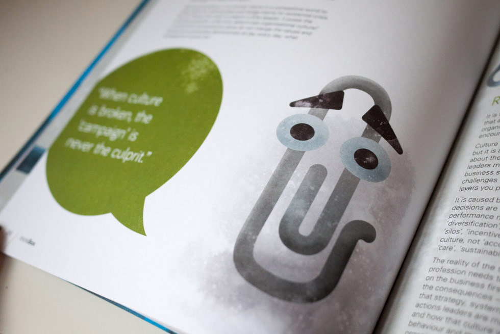 Clippy from Microsoft Word illustration by Ed Clews