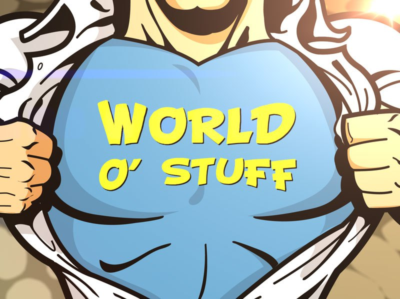 World O Stuff podcast logo